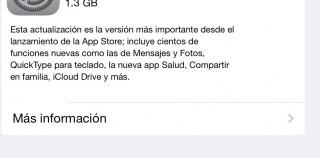 iOS8: todas las características