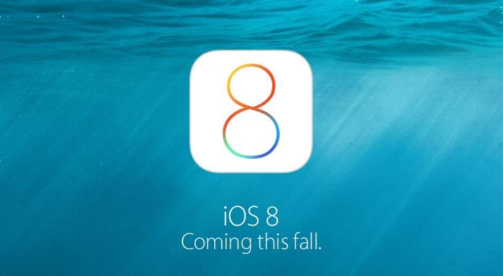 iOS 8. Llegará este otoño.