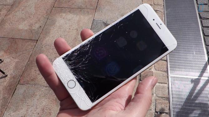 iphone6 quebrado