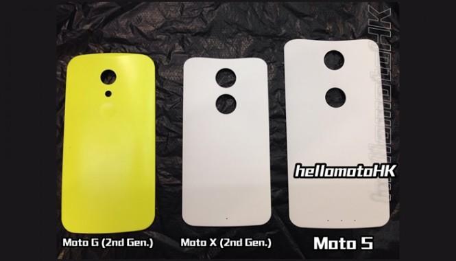 Imagen comparativa del Moto S con los últimos dispositivos de Motorola.