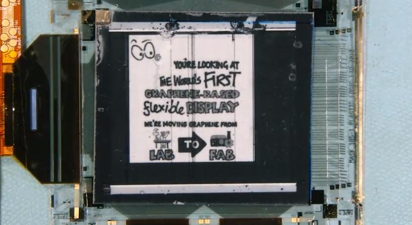 pantalla de grafeno
