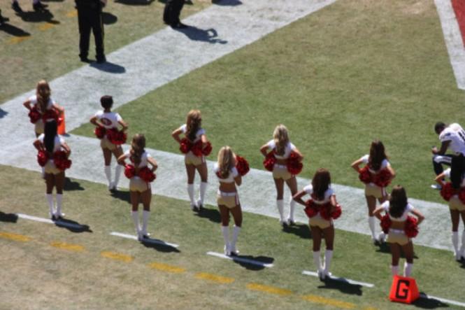 porristas 49ers en la nueva app del estadio