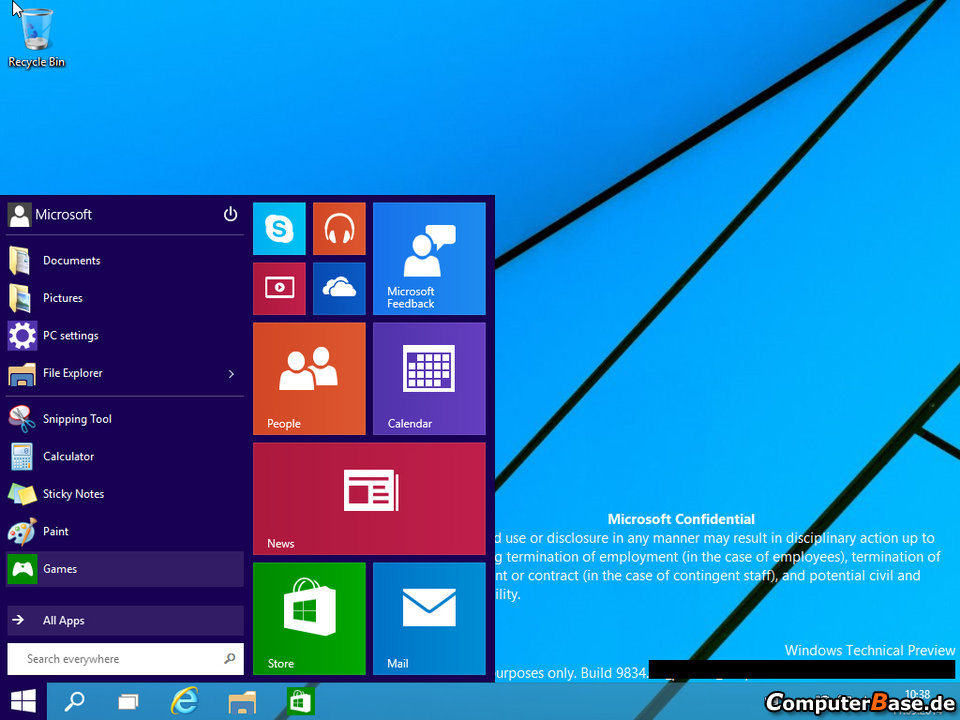 windows technical preview