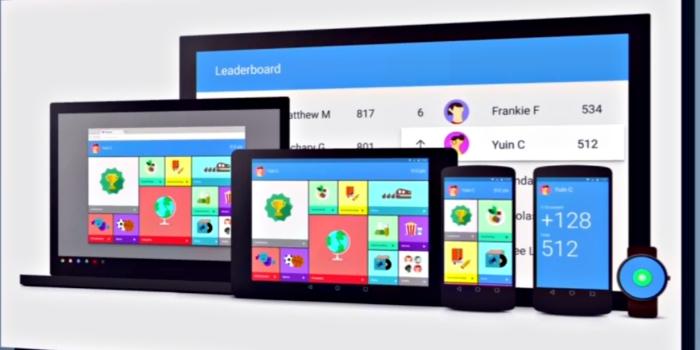 Imagen muestra como sería Google Now con Material Design