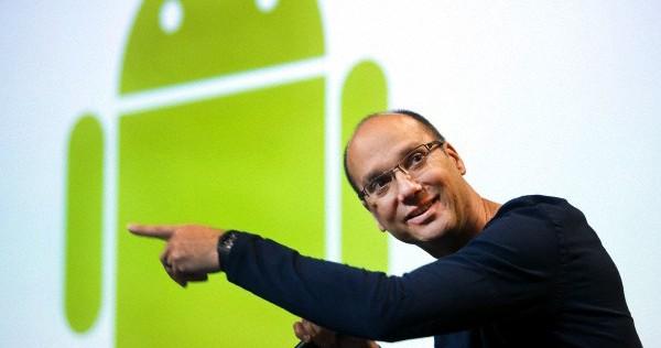 Andy Rubin, el creador de Android, deja Google