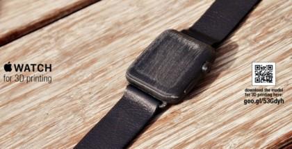 Apple Watch: Así luciría en tu muñeca gracias a la impresión 3D