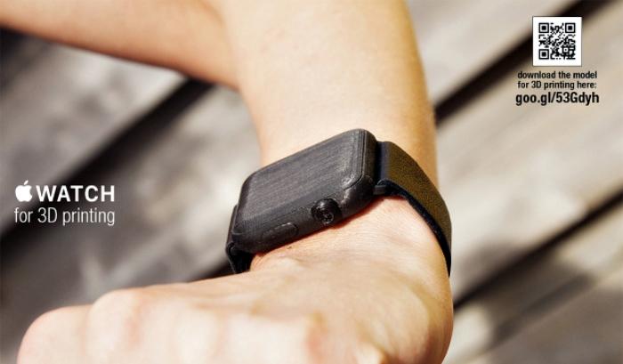 Apple Watch impreso en 3D