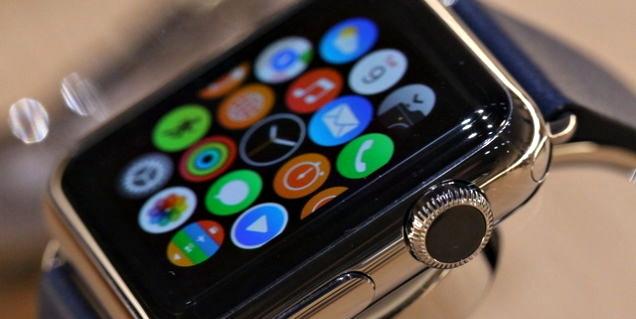 Apple Watch tiene una pantalla más pequeña de lo esperado
