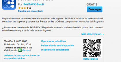 BlackBerry 10, payback movil
