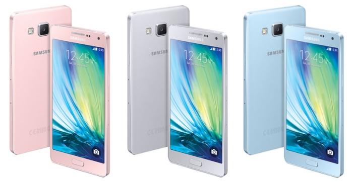 Galaxy A5 - Colores