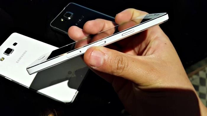 Galaxy A5 - Metal unibody