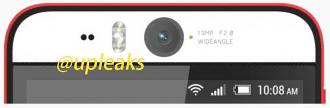 Cámara del supuesto HTC Desire Eye