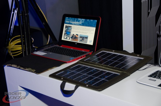 Intel Future Showcase-cargador solar2