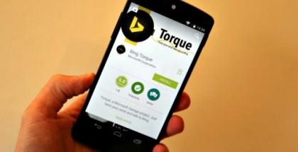 Bing Torque, aplicación de Microsoft para smartwatch activada por gestos