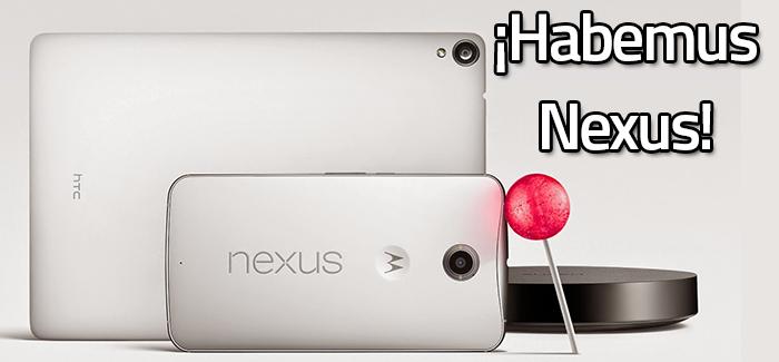 ¡Nueva Familia de Nexus 2014!