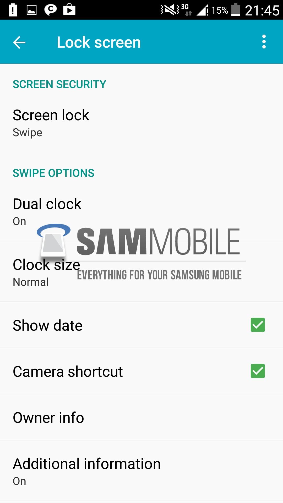Configuración de Pantalla de Bloqueo (Lock Screen)