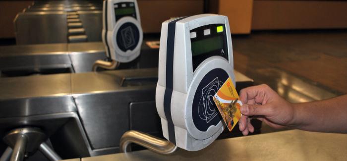 Tarjeta RFID del Metro de la Ciudad de México