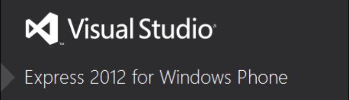 Versión Express de Visual Studio para Windows Phone