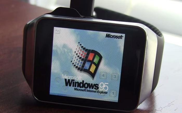 Windows-95-en-Samsung-Gear-Live