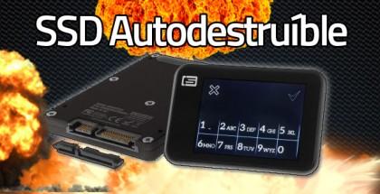 SSD Autodestruible