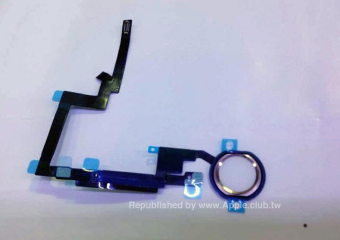 iPad Air dos boton touch id