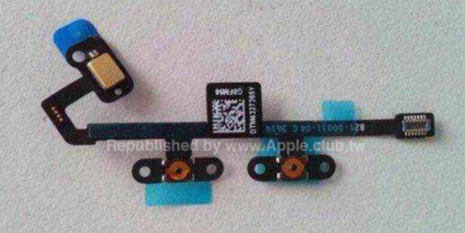 iPad Air dos botones de volúmen