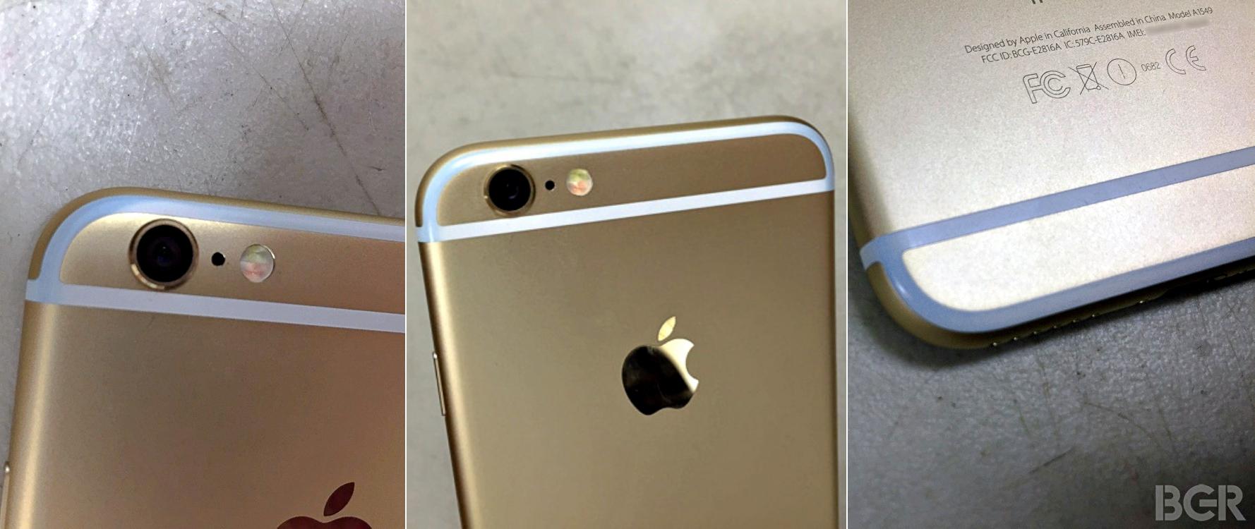 iPhone 6 - Manchas de azul