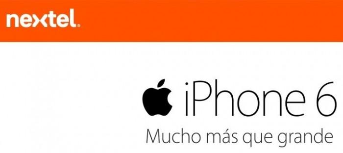 iPhone 6 Nextel