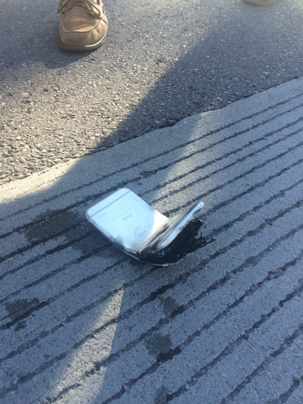 iphone en calle