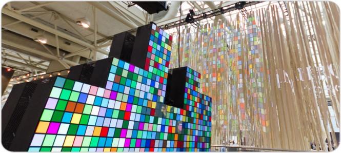 Actualmente la empresa Christie ya manufactura y vende pantallas modulares
