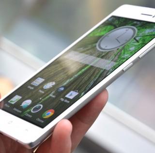 OPPO R5 es el smartphone más delgado del mundo: 4.85 mm