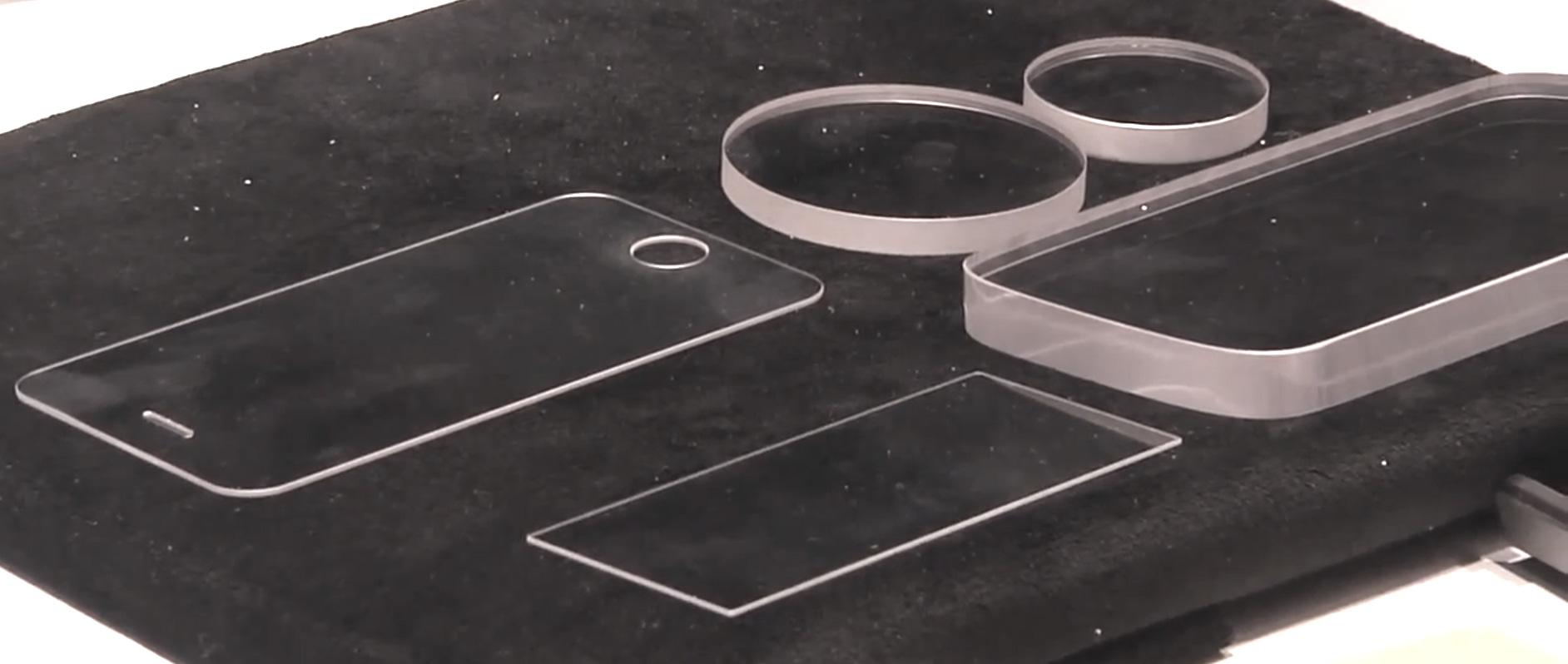 pantalls de zafiro de GT Advanced technologies