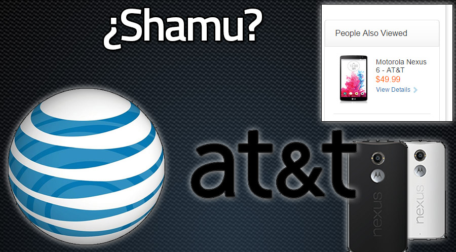 Motorola Nexus® seis en ATT