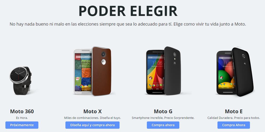 La apertura de la tienda en línea de Motorola no gustó nada a Telcel