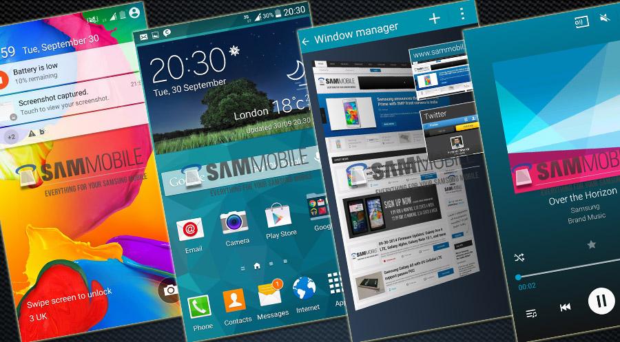 Samsung Touchwiz en Android® L 5.0