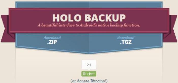 HoloBackup