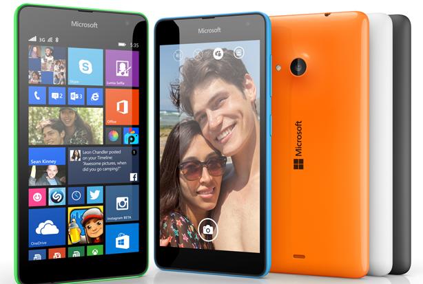 Microsoft Lumia 535-colores