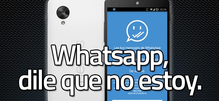 Shh, Whatsapp