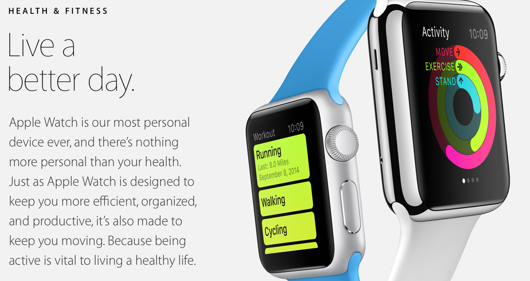 apple watch-health & fitness