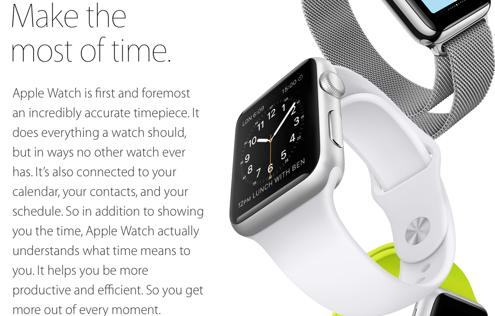 apple watch-timekeeper