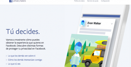 facebook privacy basic