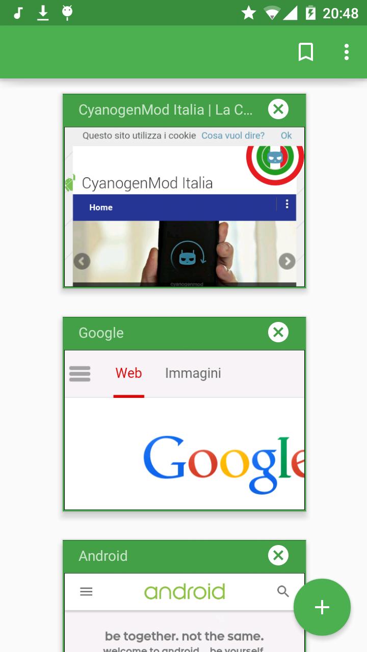 CM 12 M1 Browser