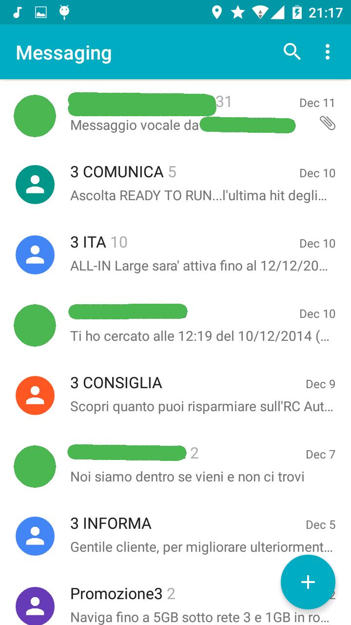 CM 12 M1 Messaging