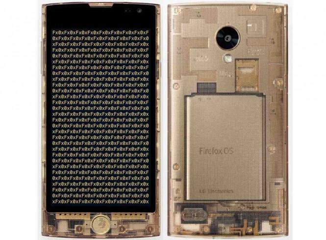 El FX0 en versión transparente será comercializado en Japón.
