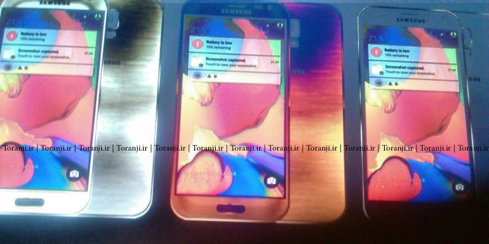 Supuestas fotografías del Samsung Galaxy S6 en tres colores diferentes