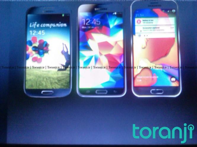 Comparación del supuesto Samsung Galaxy S6 con el Galaxy S4 y Galaxy S5