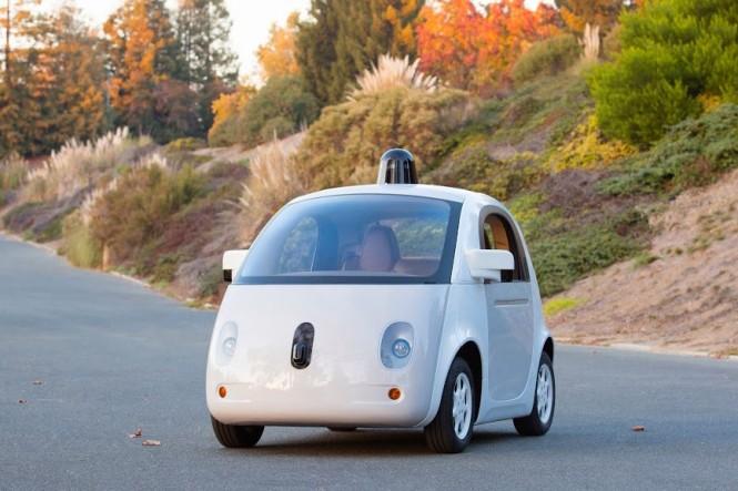 Prototipo del Primer Vehículo autónomo de Google