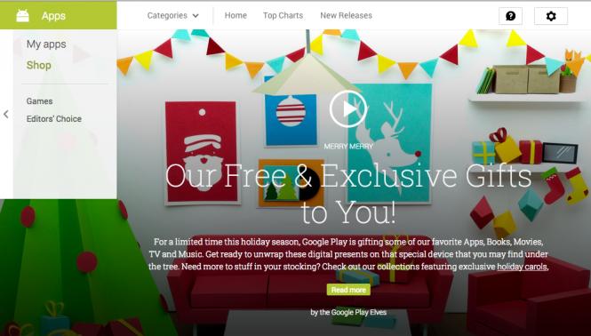 Google ofrece descuentos en bastantes juegos por Navidad.