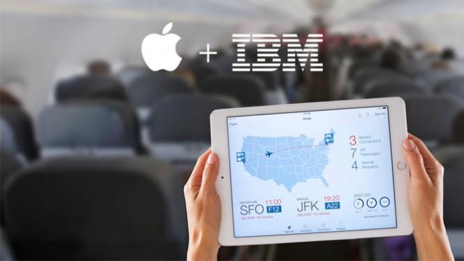 IBM y Apple muestran sus primeras opciones para transformar el mundo empresarial