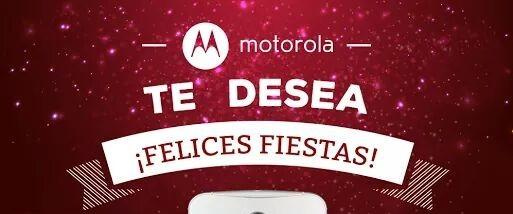Motorola felices fiestas